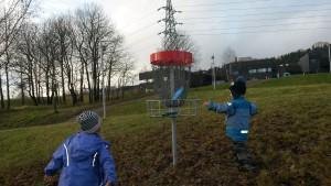 Stovner Junior DiskGolfPark - 9 hulls bane for juniorer, nybegynnere og trening