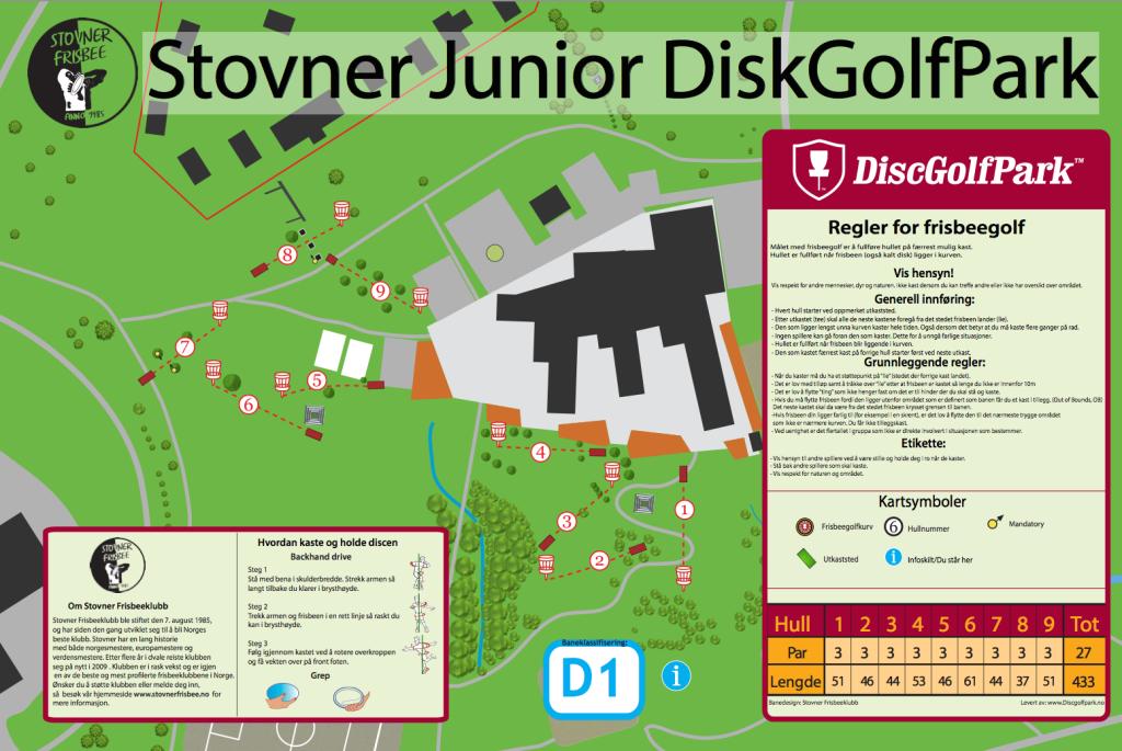 Stovner Junior DiskGolfPark