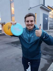 Vinner av ligaens siste runde, Kristian Rønnestad